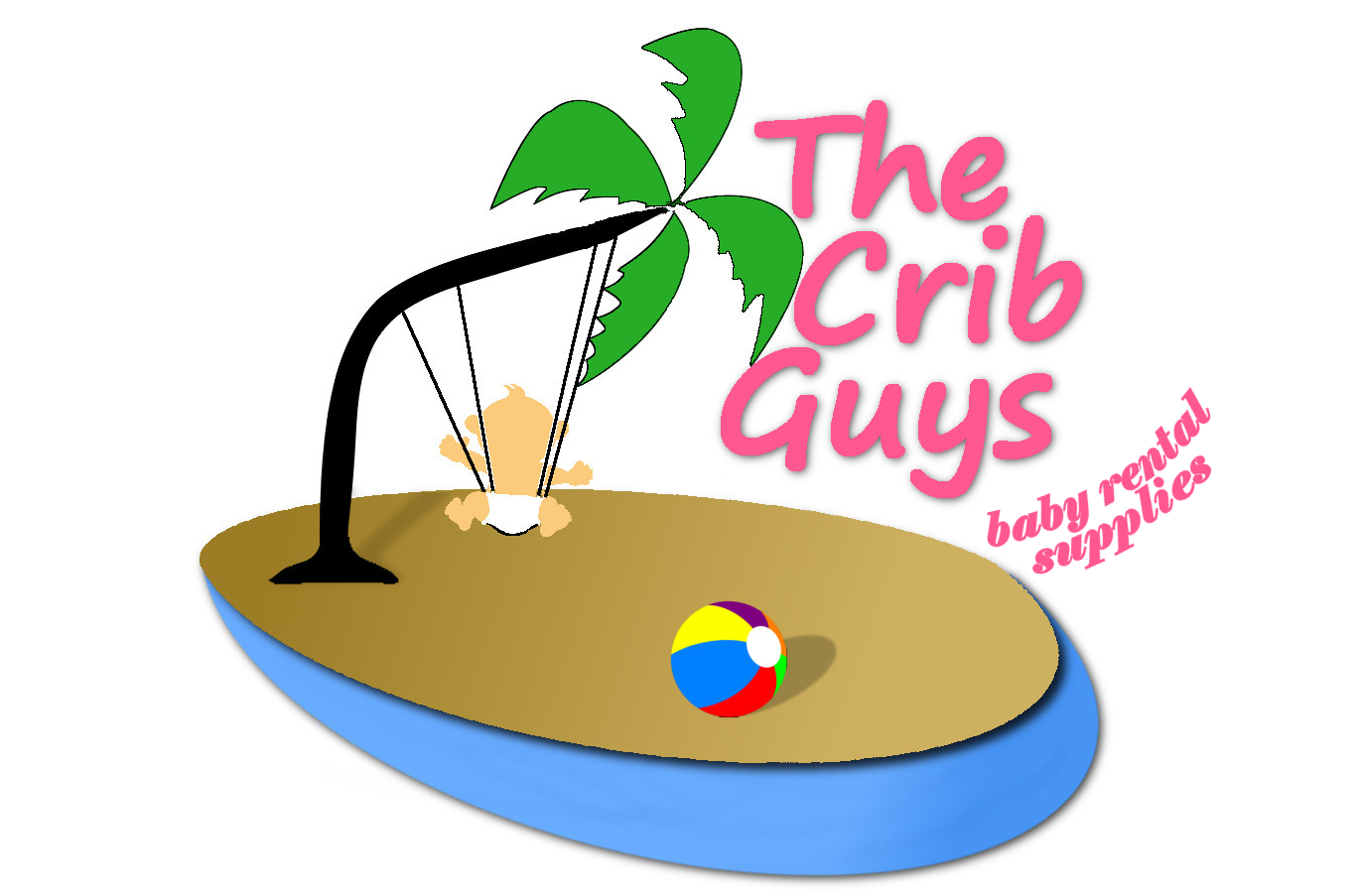 Crib Guys Logo baby equipment rental, infant equipment rental South Carolina, baby rentals gear, toddler equipment rental, toddler rentals, baby and toddler equipment rental South Carolina, baby toddler equipment rental, equipment rental,